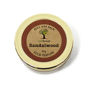 Sandal Balm with Natural Beeswax
