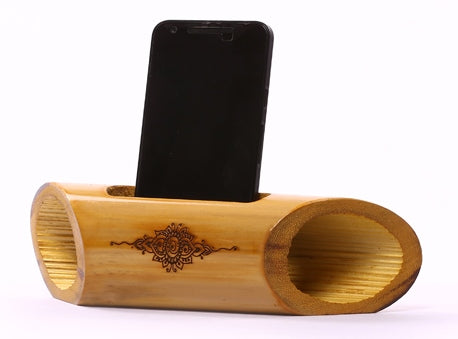 Electricity-Free Bamboo Speaker