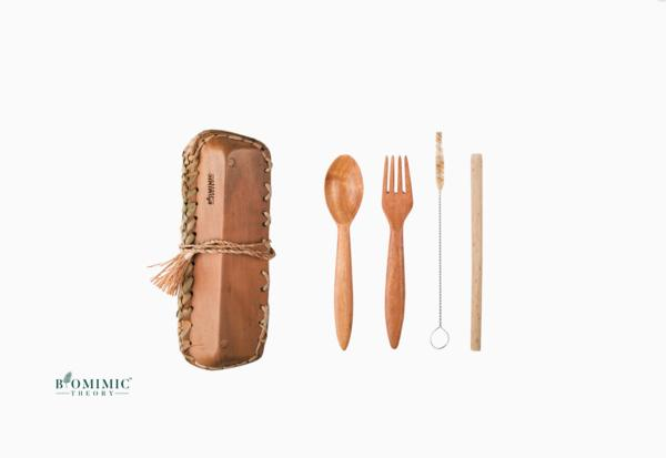 Bio Array - Eco-Friendly Reusable Travel Cutlery Kit