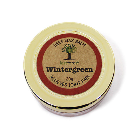 Wintergreen Balm with Natural Beeswax