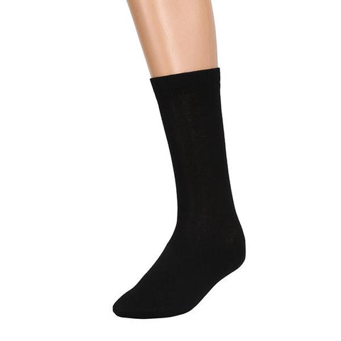 Breathable, Anti-Odour and Anti-Microbial Bamboo Formal Socks - Pack of 3 Pairs - Black