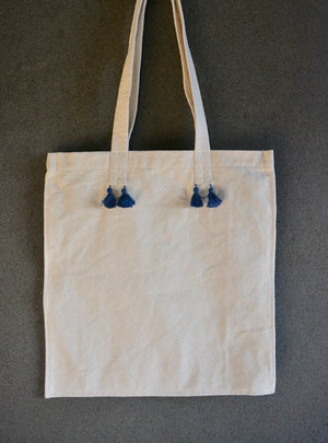 Tailored Cotton/ Canvas Tote Bag Made By Himalayan Women Artisans