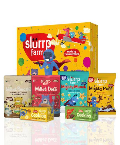 Celebration Box  Filled with Yummy, Healthy, Natural Snacks for Kids, 520g
