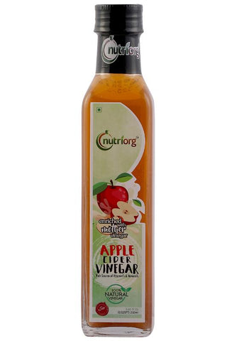 Certified Organic Apple Cider Vinegar, 250ml.