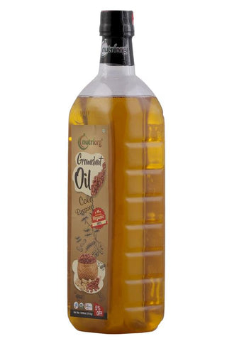 Certified organic Groundnut Oil