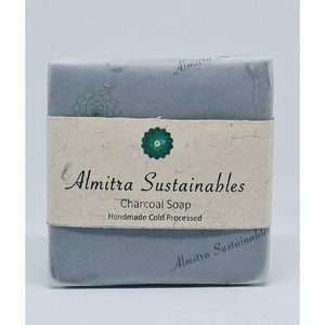 Handmade, Cold Processed Charcoal Soap