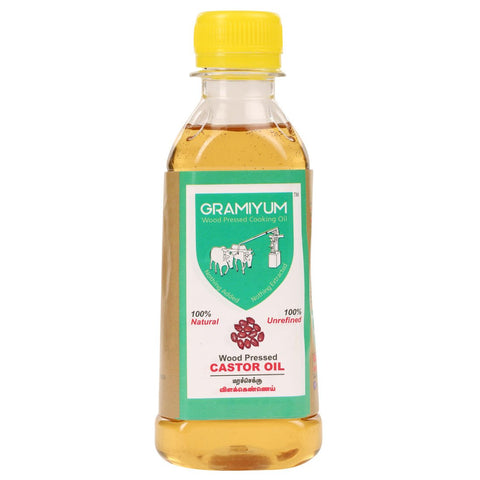 Cold-Pressed Castor Oil, 200ml