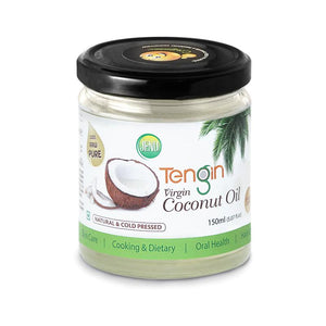 Cold-Pressed Virgin Coconut Oil, 150ml (Pack of 2)