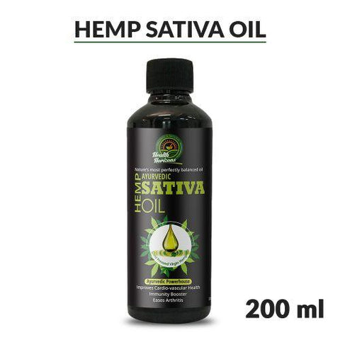 Cold Pressed Sativa (Hemp) Oil, 200ml