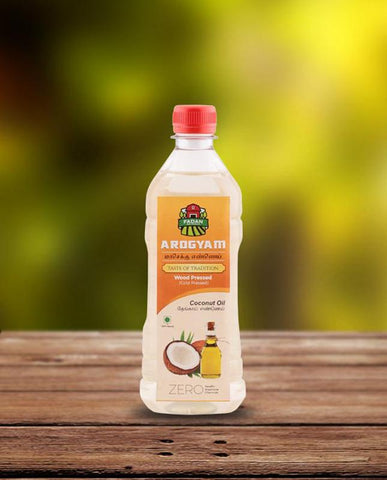 Cold-Pressed Natural Coconut Oil, 500ml