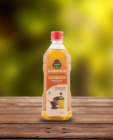 Cold-Pressed Natural Sesame Oil,  500ml