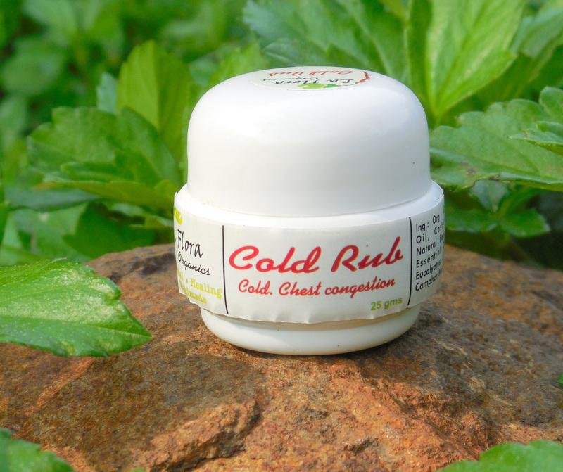 Cold Rub Herbal Balm, 25g