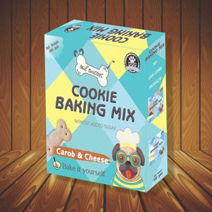 Cookie Baking Mix For Dogs (Carob & Cheese), 300g