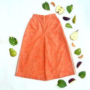 Coral Salad Girls' Culottes made of Organic Cotton
