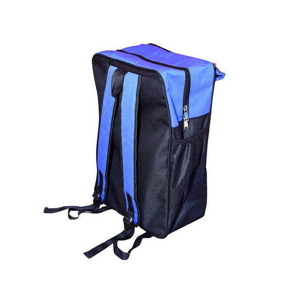 DESKITBackpack Convertible into Study Table - Created by Marginalised Women Artisans (14 Litres) - Blue