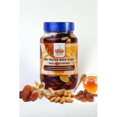 Dry Fruits with Honey, 500g