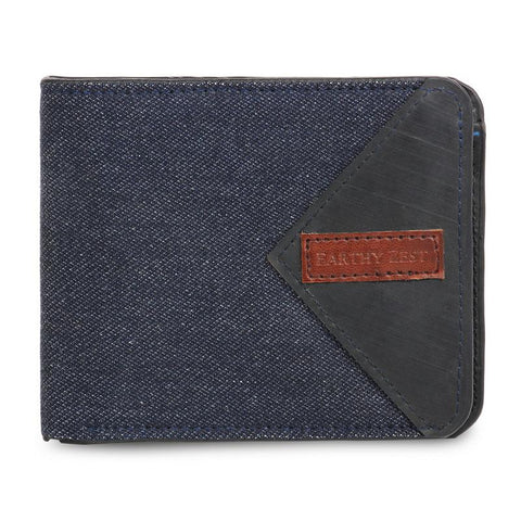 Upcycled Denim Men's Bifold Wallet/ Card Holder