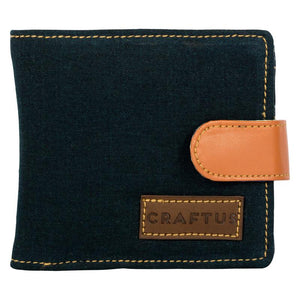 Handcrafted Denim Folded Wallet for Men