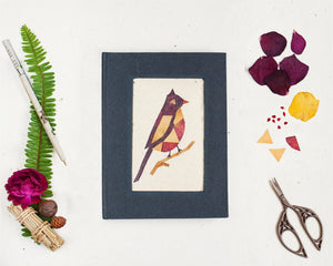 Floral Diary with Bird Motif Handmade by Women Artisans (100 pages)