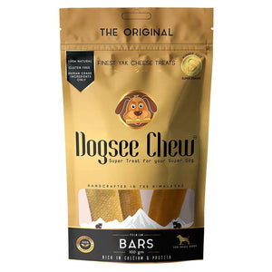 Natural Yak Cheese Bars - Long-Lasting Dental Chews for Dogs