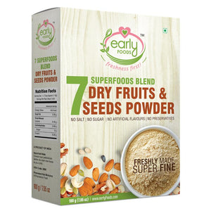 Dry Fruit & Seeds Powder for Kids - Blend of 7 Indian Super Foods, 100g