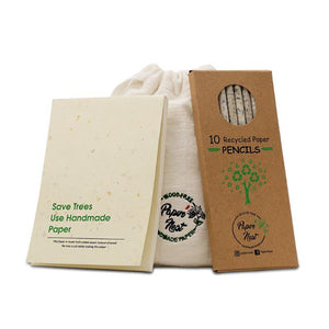 Eco-Friendly Stationery Gift Set - Save Trees