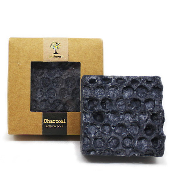 Organic Beeswax and Charcoal Handmade Soap