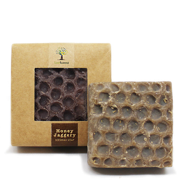 Organic Beeswax, Honey and Jaggery Handmade Soap