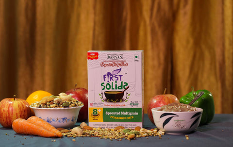 First Solids Organic Baby Porridge - Sprouted Multigrain (8-24 Months)