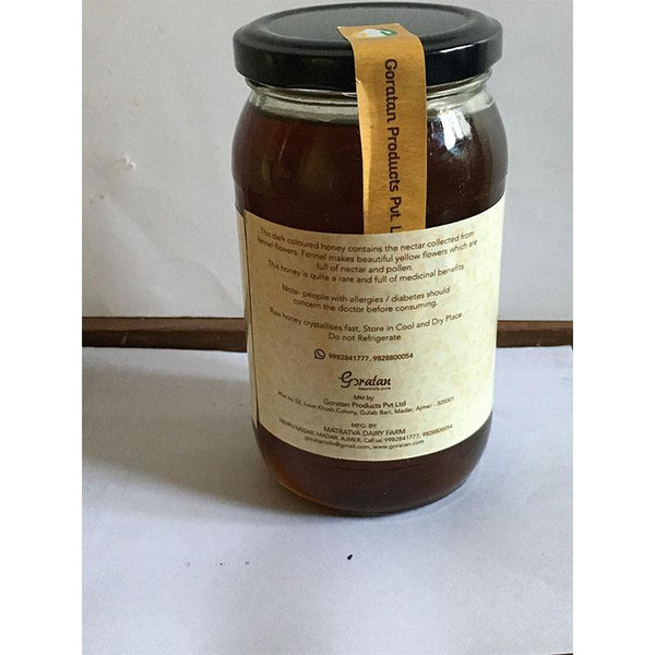 Raw, Natural Fennel Honey, 500g