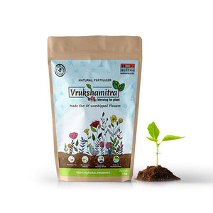Natural Fertilizer made of Upcycled Flowers - Pack of 2