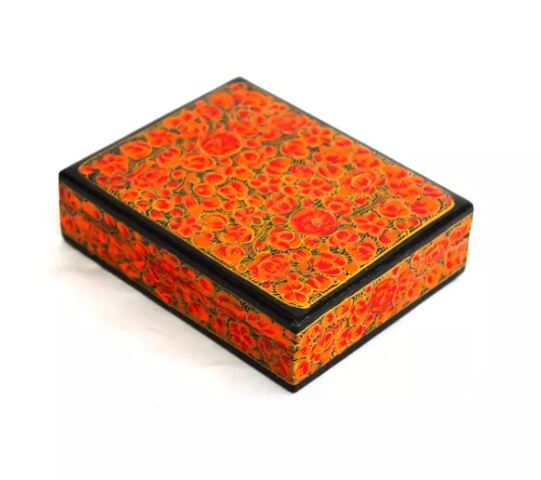 Decorative Kashmiri Box (M) created by artisans with disability