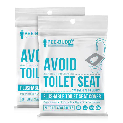 PeeBuddy Flushable Toilet Seat Covers
