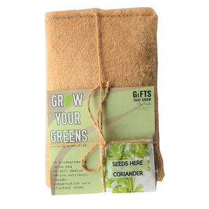 Grow Your Greens Kit: Coriander