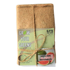 Grow Your Greens Kit: Watermelon