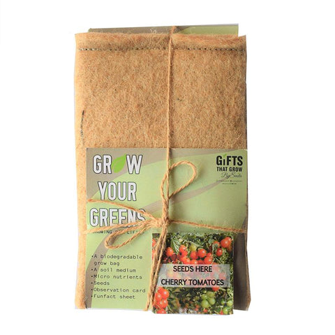Grow Your Greens Kit: Cherry Tomato