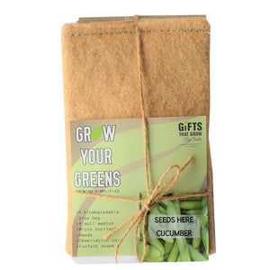 Grow Your Greens Kit: Cucumber
