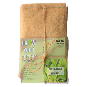 Grow Your Greens Kit: Spinach