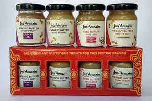 Festive Gift Box - Nut Butters, 220g