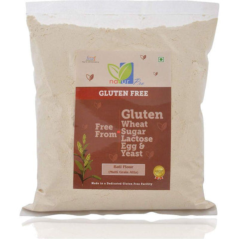 Gluten-Free Multi-Grain Bati Flour - Pack of 5, 400g each