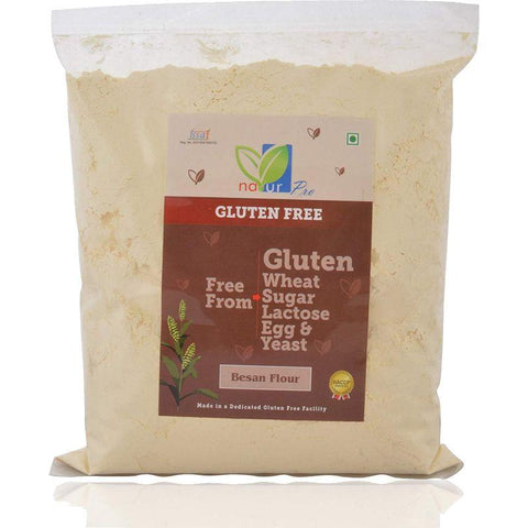 Gluten-Free Gram Flour (Besan) - Pack of 5, 800g each