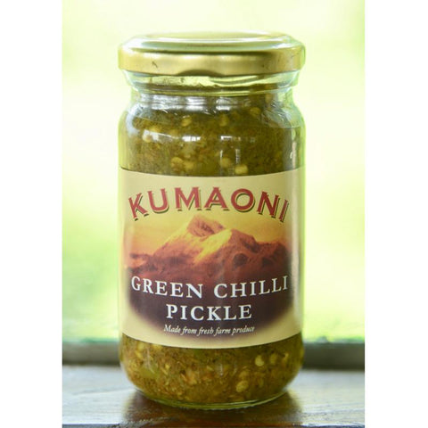 Green Chili Pickle, 500g