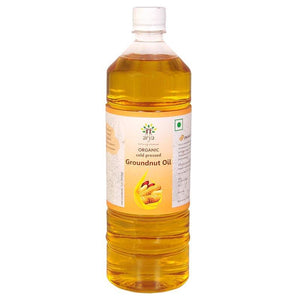 Organic Cold-Pressed Groundnut Oil, 1l