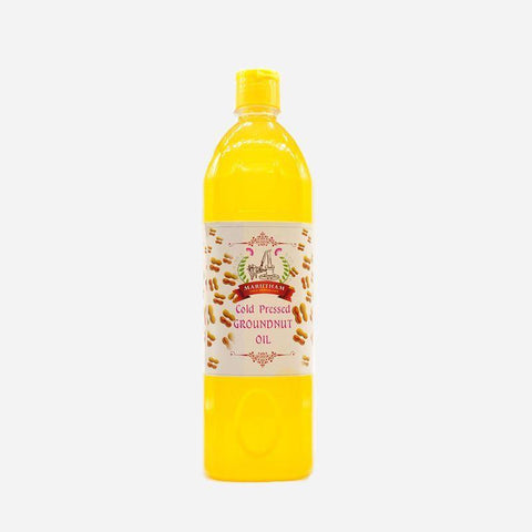 Unrefined Cold-Pressed Groundnut Oil (1000ml)