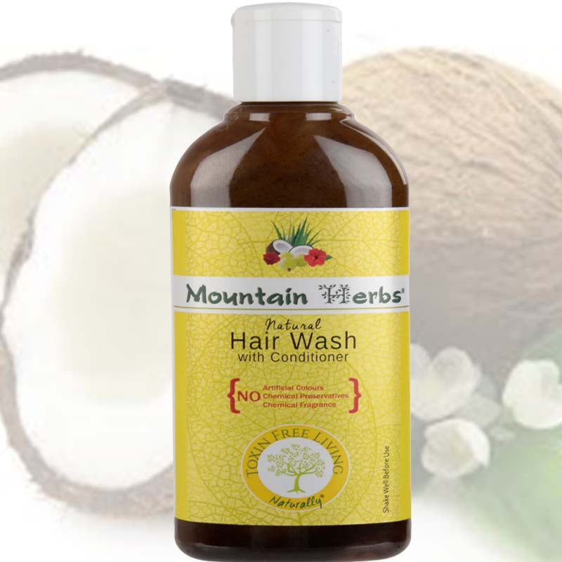 Plant Based Natural Hair Wash from Mountain Herbs