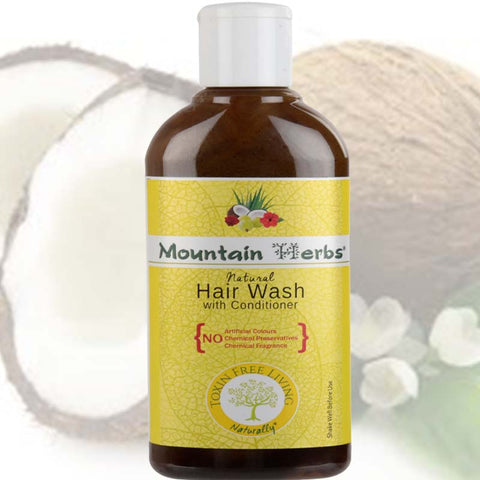 Plant Based Natural Hair Wash, 250ml