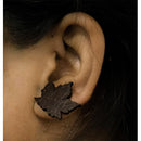 Handcrafted Coconut Shell Earrings - Stud