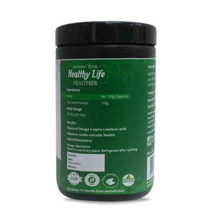 Natural Flax Seed Powder, 500g