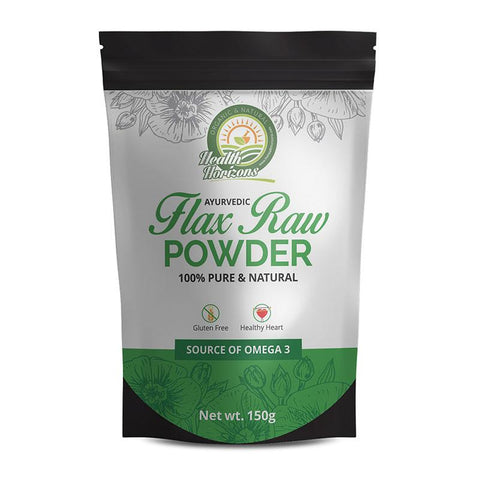 Natural Flax Seed Powder, 150g