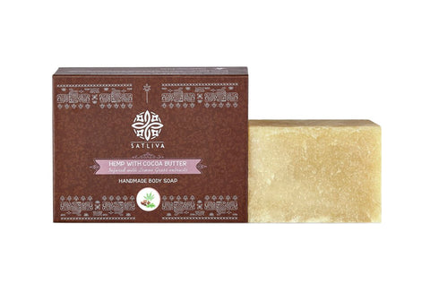 Hemp with Cocoa Butter Natural Body Soap Bar